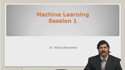Machine Learning Session 1
