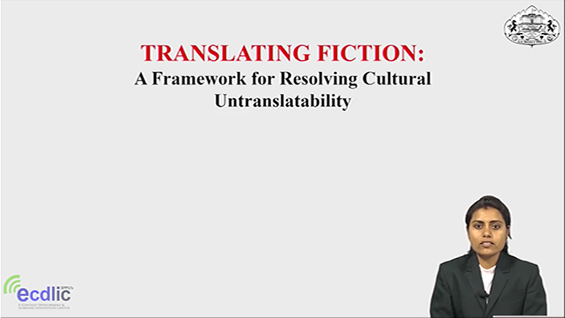 Translating Fiction