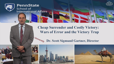 Cheap Surrender and Costly Victory:Wars of Error and the Victory Trap