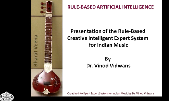 Rule Based Artificial Intelligence:A Creative Intelligent Expert System for Indian Music