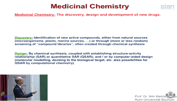 Medicinal Inorganic Chemistry Lecture 1